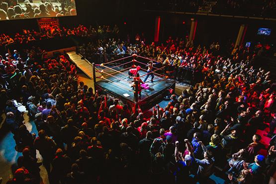 WWE Dwarf Wrestling